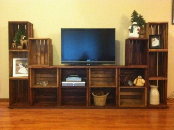 Diy Wooden Tv Cabinet - DIY Campbellandkellarteam