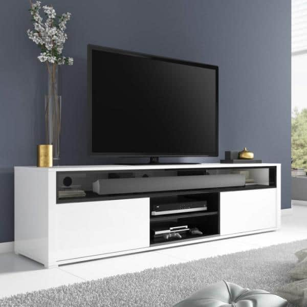 Minimalist TV Stand with Plywood TV Cabinet