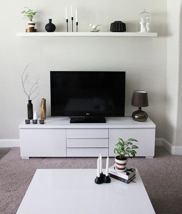Minimalist TV Unit and TV Stand Ideas