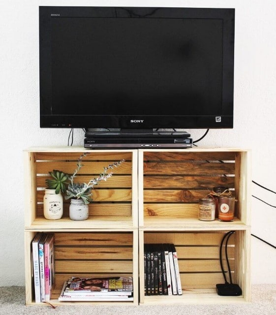 Pallet TV Table