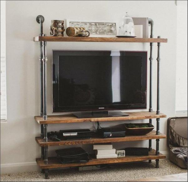 Small Pipe TV Stand