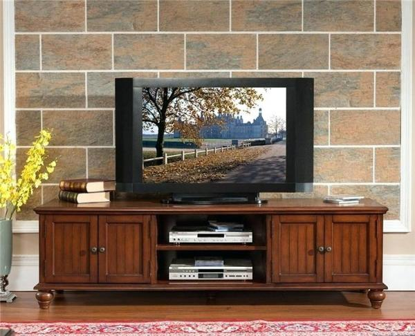 Wooden TV Rack Design