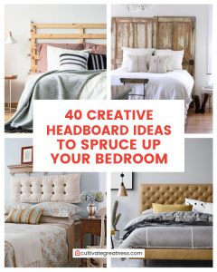 Creative Headboard Ideas to Spruce Up Your Bedroom