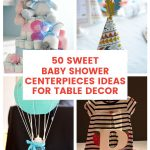 Sweet Baby Shower Centerpieces Ideas for Table Decor