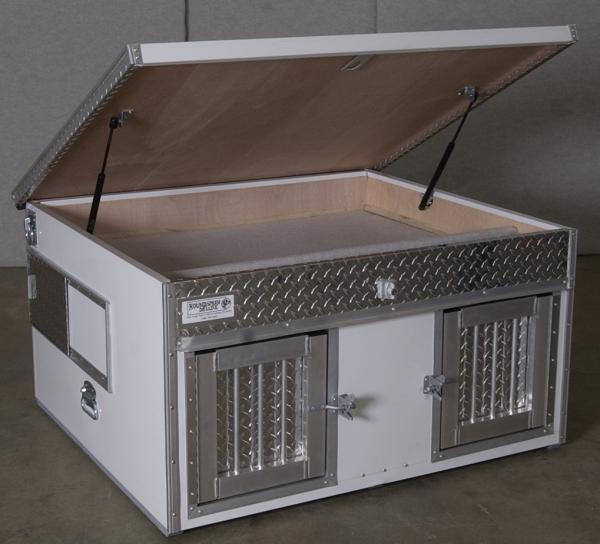 aluminum dog house