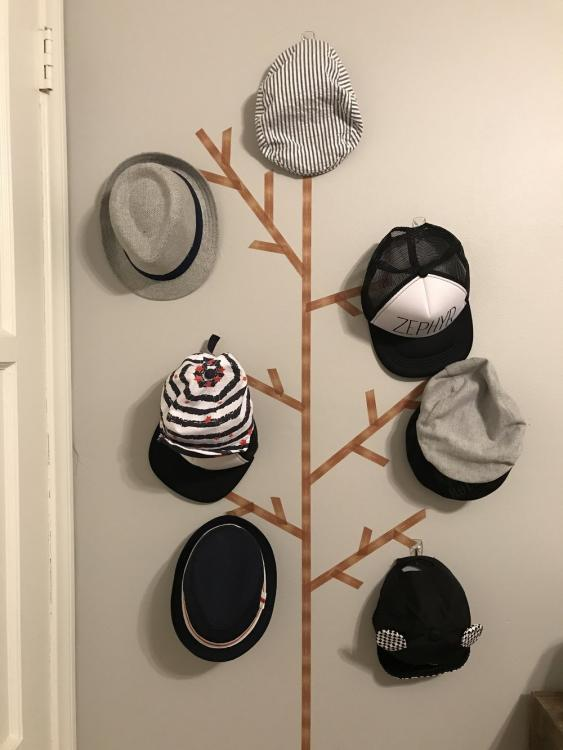 baby hat rack