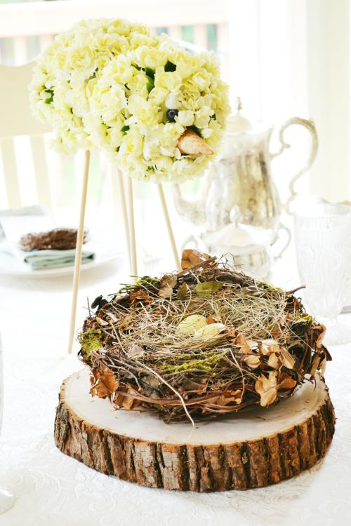 baby shower floral centerpieces ideas
