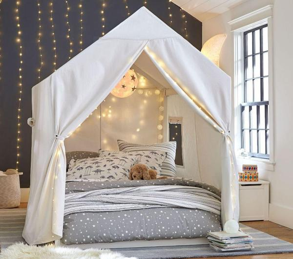 bedroom tent canopy