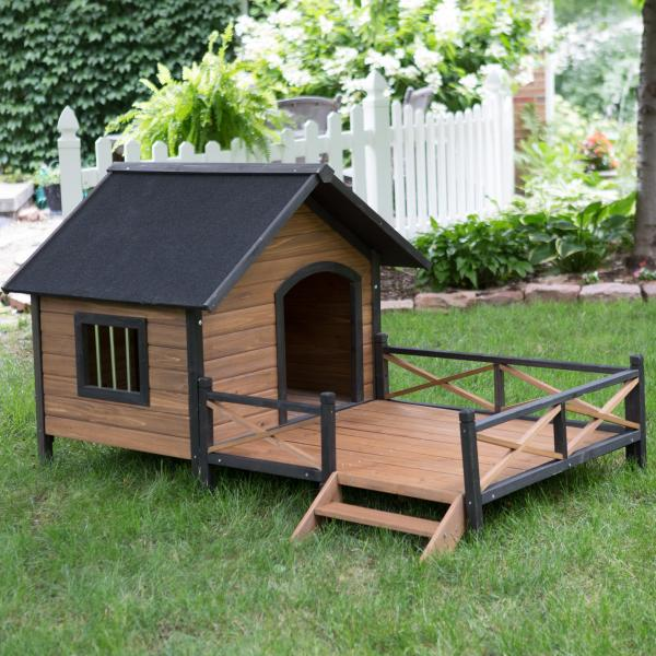 cabin dog house