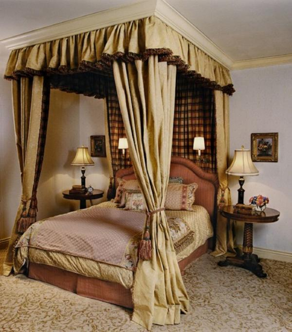 canopy bedroom curtains