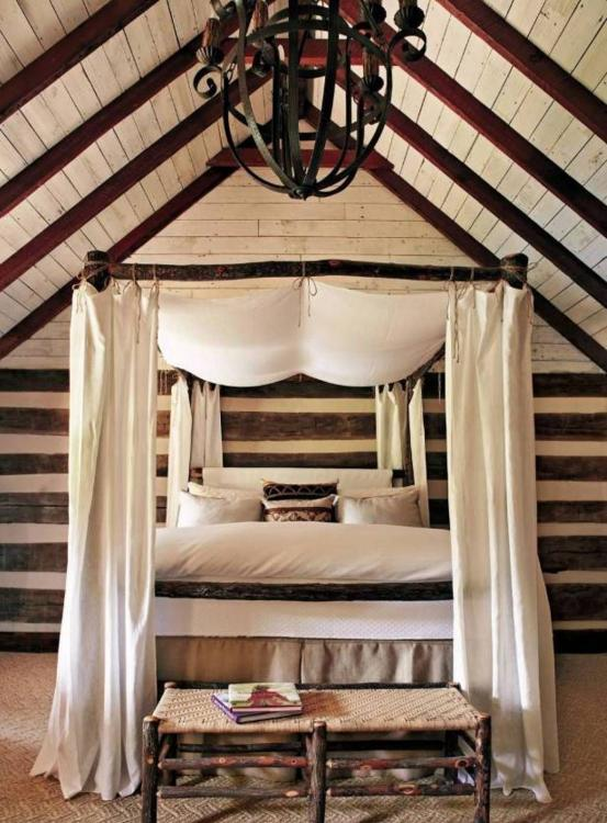 canopy bedroom decorating ideas