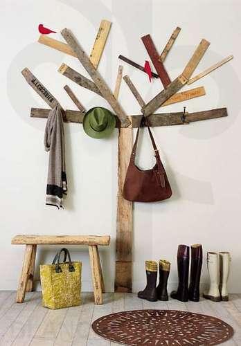 creative hat rack ideas
