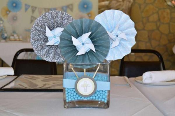 cute centerpieces for boy baby shower