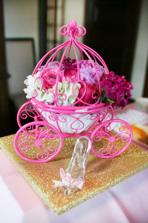 cute centerpieces for girl baby shower
