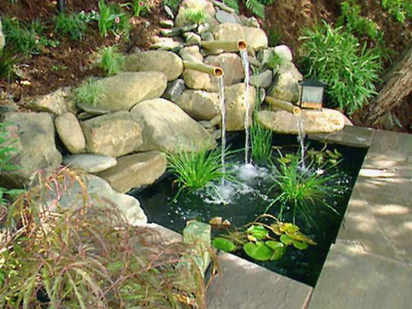 diy backyard fountain ideas