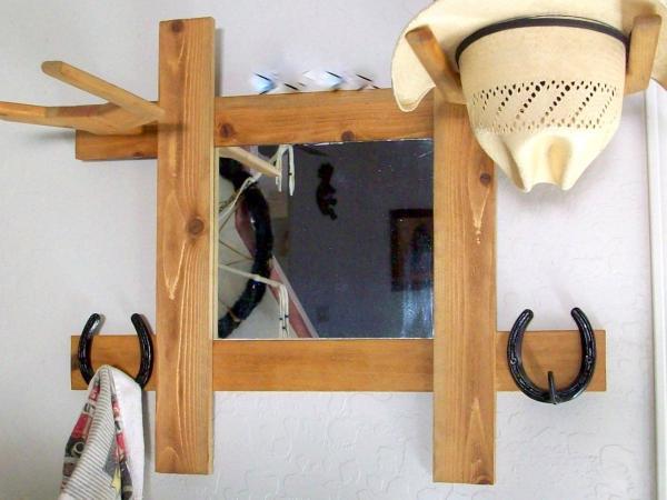 diy cowboy hat rack