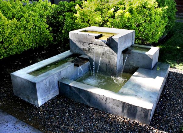 diy large fountain