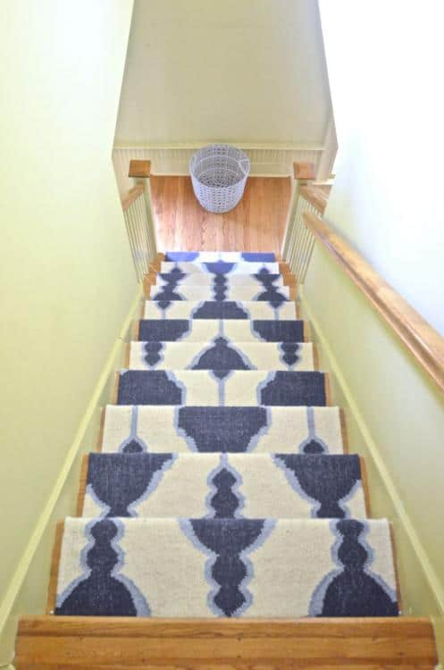 diy stair carpet runner