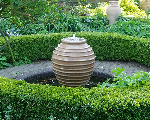 diy urn fountain