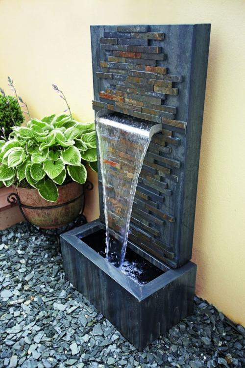 diy wall fountain