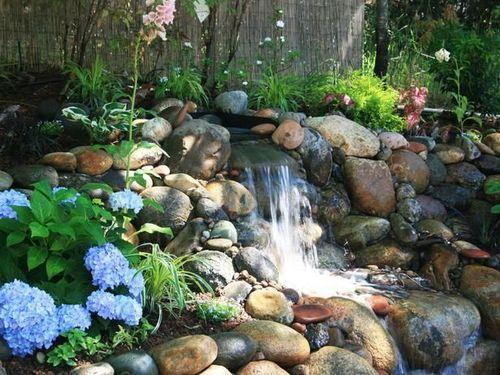 diy waterfall fountain