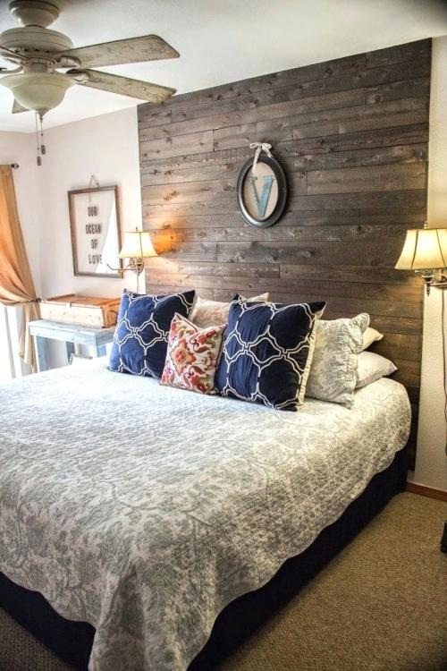 diy wood headboard ideas