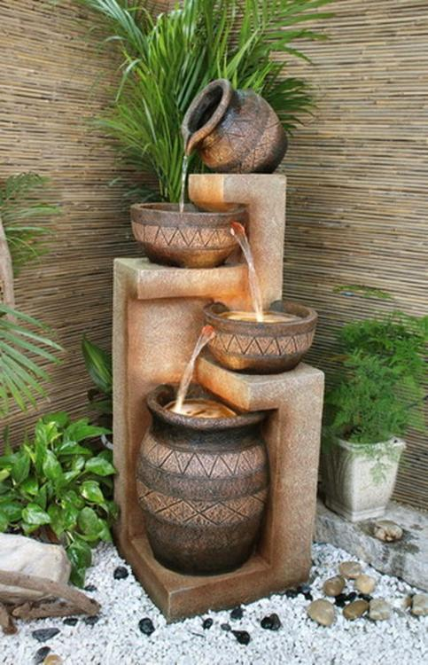 diy zen fountain
