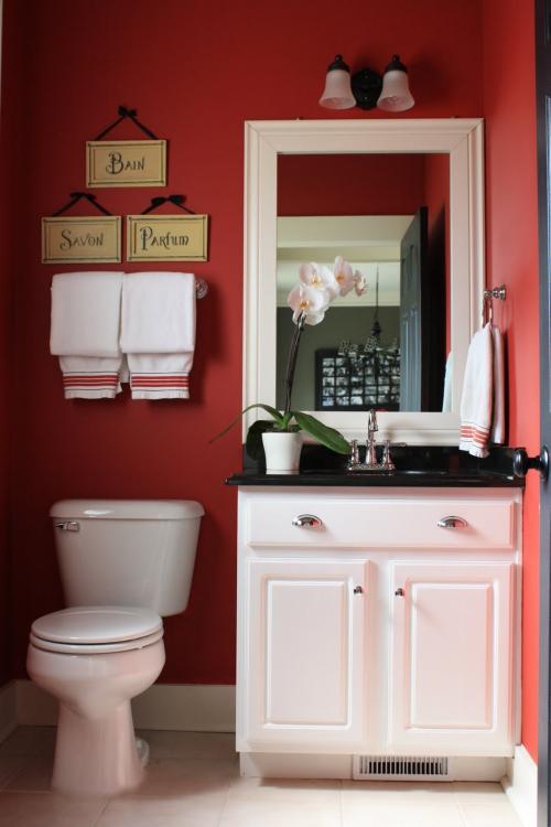 downstairs toilet colour ideas