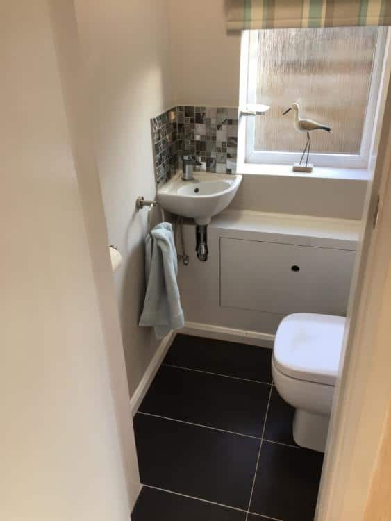 downstairs toilet extension