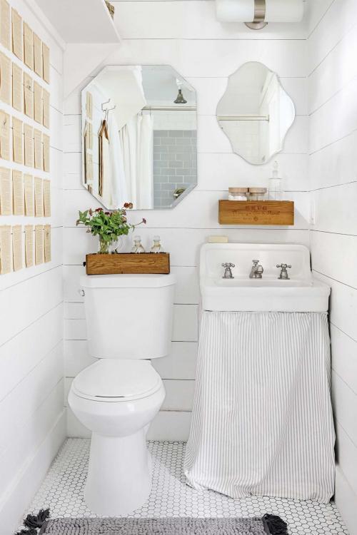 downstairs toilet ideas