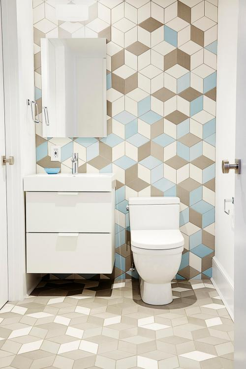 downstairs toilet tile ideas