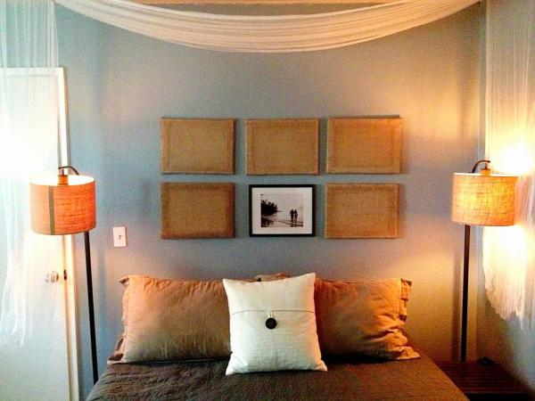 easy headboard ideas