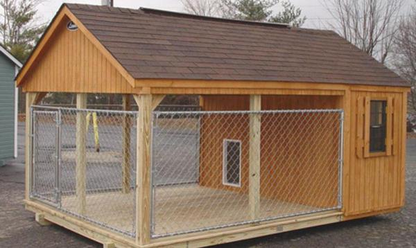 extra large wooden dog house