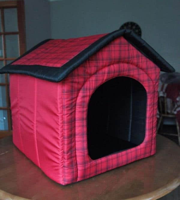 fabric dog house