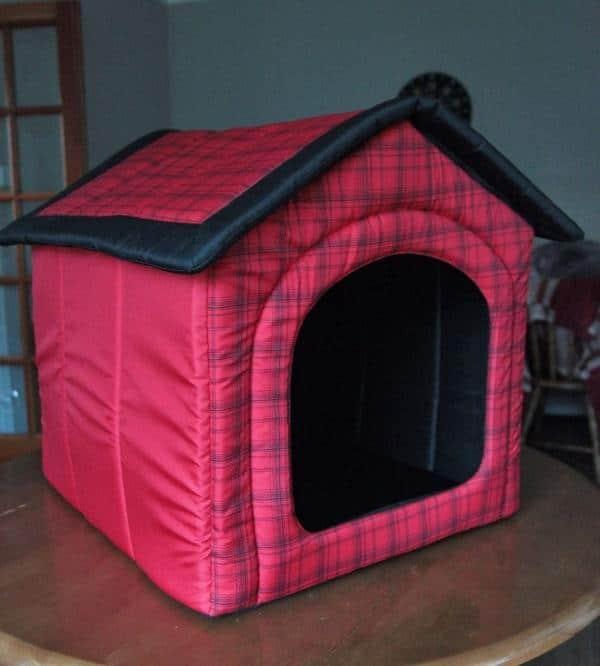 fabric dog house