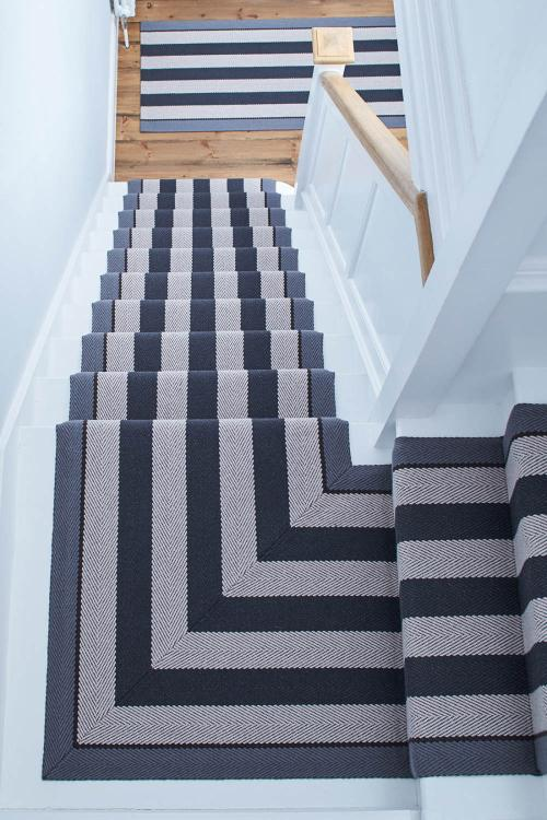 fitting stair carpet