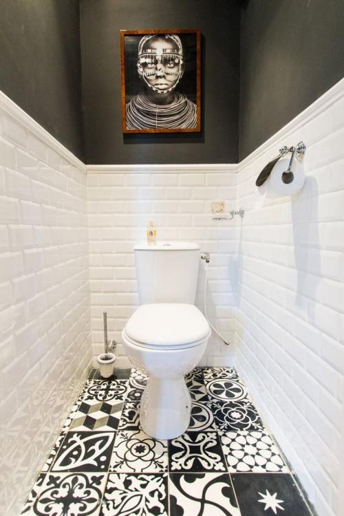 funky downstairs toilet ideas