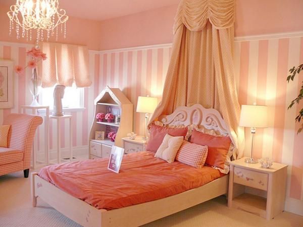 girls canopy bedroom