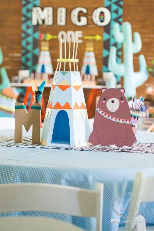 handmade baby shower centerpieces