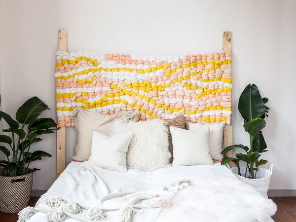 handmade headboard ideas