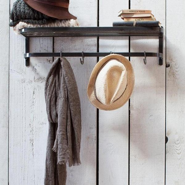 industrial hat rack