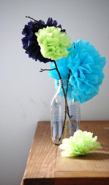 inexpensive baby shower centerpieces