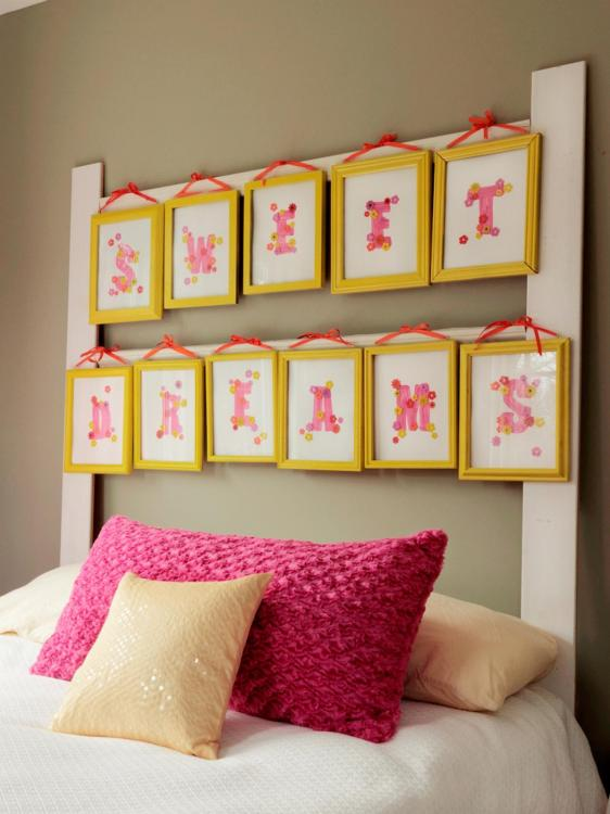 inexpensive headboard ideas