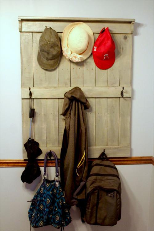 large hat rack