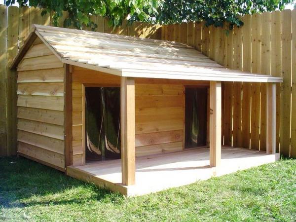 large size dog house