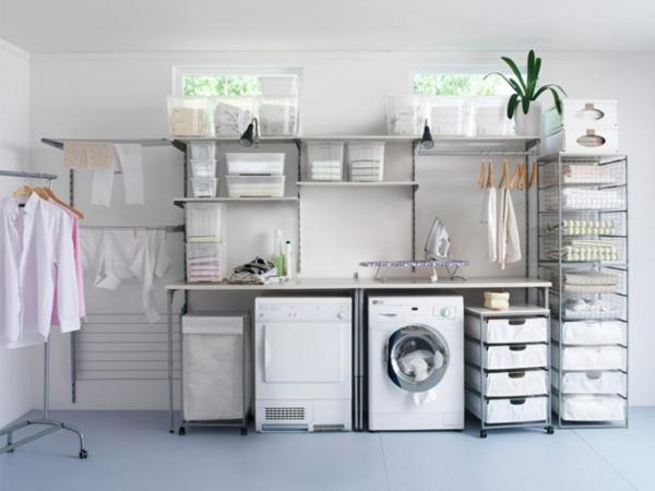 laundry room organizers and storage