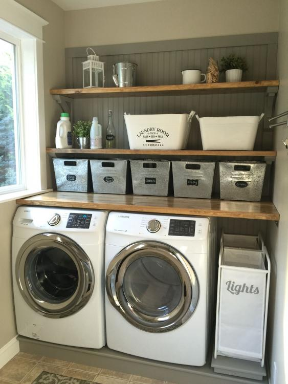 laundry room storage containers