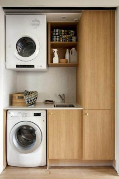 laundry room storage for small spaces