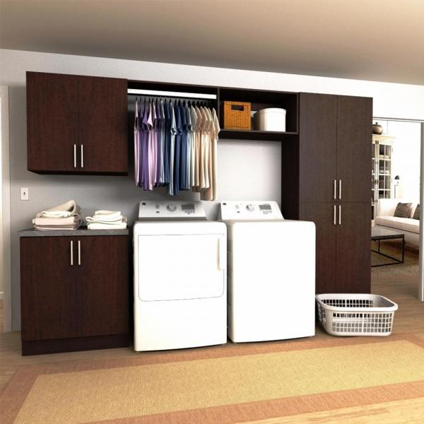laundry room storage tower