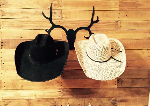 metal hat rack